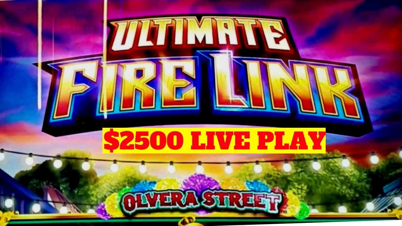PREMIERE STREAM ! $2500 On HIGH LIMIT Ultimate Fire Link
