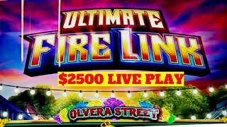 🔴PREMIERE STREAM ! $2500 on HIGH LIMIT Ultimate Fire Link Slot Machine ✦Up To $30 Bet✦ | Live Slot