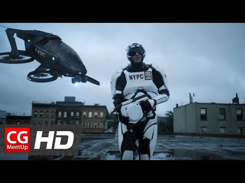 """CGI VFX Short Film HD: """"From The Future With Love"""" by K-Michel Parandi"""