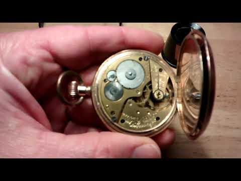Lancashire Watch Company Ltd. Prescot England Pocket Watch
