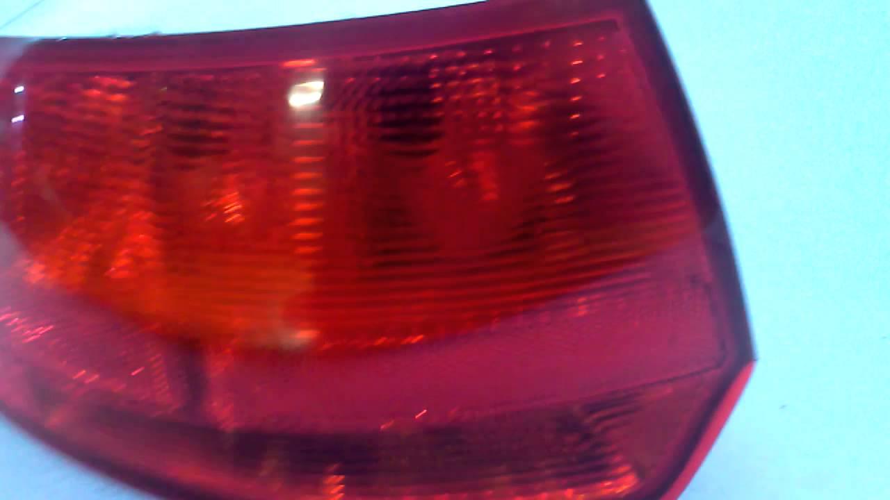 Audi A3 Sportback Lewa Lampa Tył Youtube