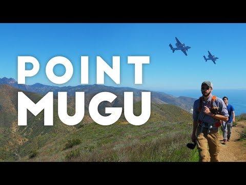 Point Mugu and Malibu   Hiking near LA 4K