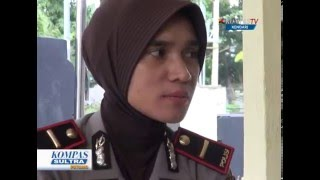 Kendari - Hari Kartini, Kapolsek Perempuan Termuda di Sulawesi Tenggara