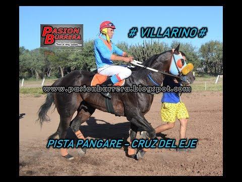 Villarino, Pista Pangare - Cruz del Eje (11-03-18)