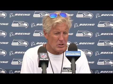 Seahawks Head Coach Pete Carroll Preseason Week 3 Press Conference