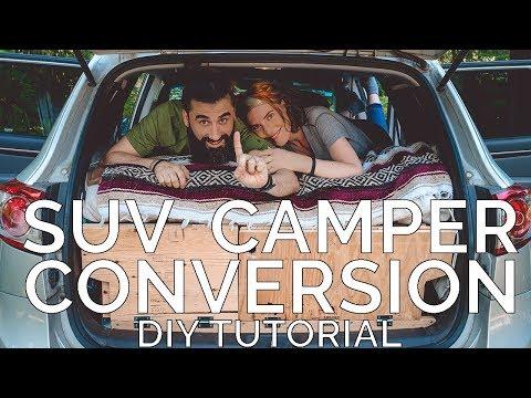 SUV Camper Conversion DIY tutorial