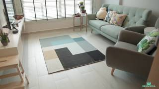 Interior Design Singapore | Simple modern home (Livinci Interior Design Pte Ltd)