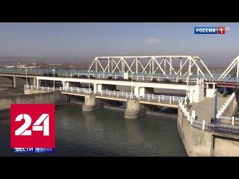 Открытый между Россией и Азербайджаном мост назвали воротами на Ближний Восток - Россия 24