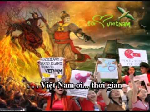 VIET NAM Toi Dau - KARAOKE Nhac Si Viet Khang Người Anh Hùng Dân Tộc