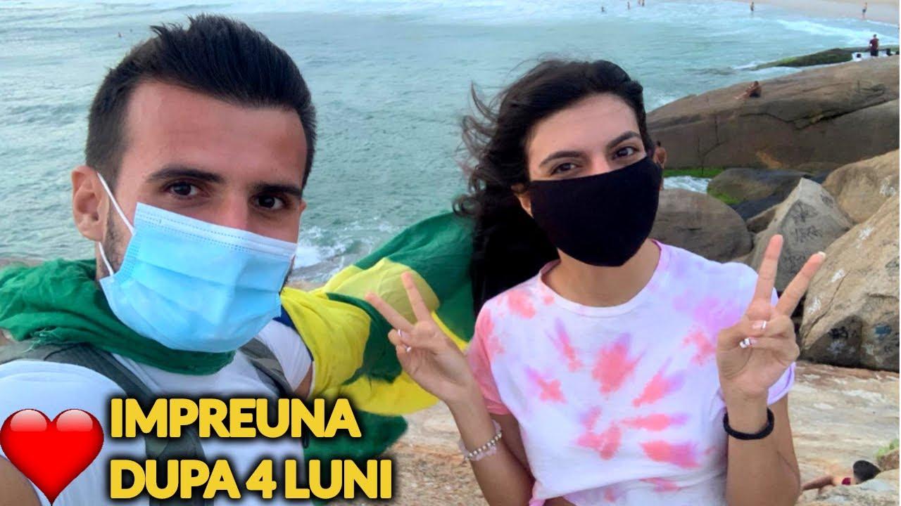 A VENIT VALENTINA IN BRAZILIA dar nu stam impreuna (mi-e frica de CORONAVIRUS)
