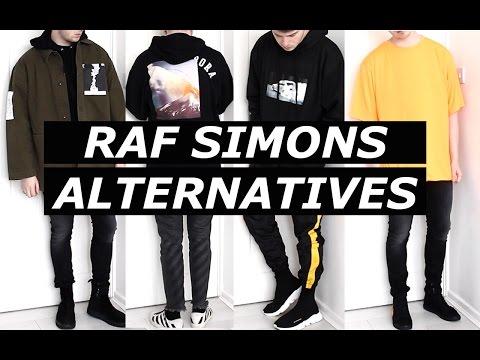 RAF SIMONS Affordable Alternatives | Streetwear, Luxury, Budget, Haul, Cheap, Options | Gallucks