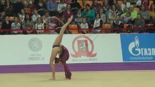 Galkina Ekaterina, Belarus, Grand Prix, Moscow, 2016. Qualification. Москва, Гран При, Квалификация.