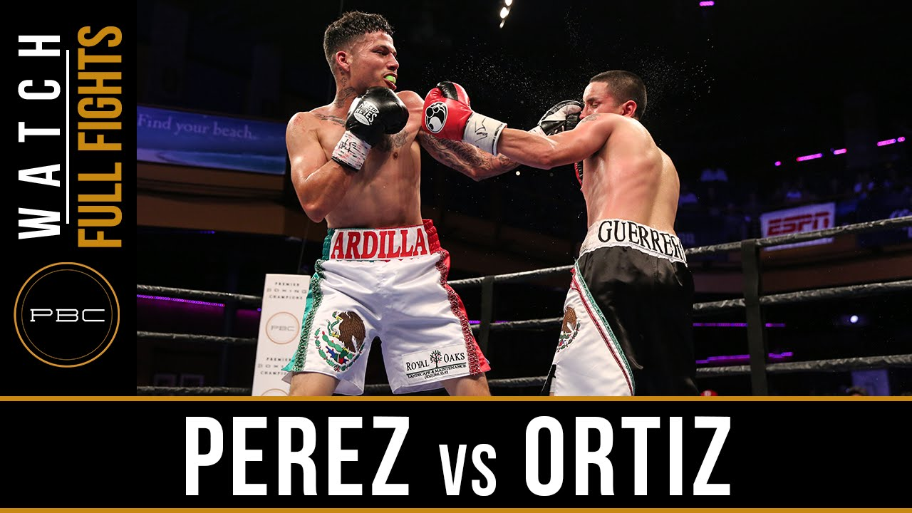 Perez vs Ortiz FULL FIGHT: July 15, 2016 - PBC on ESPN