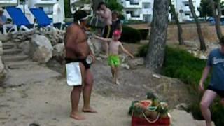 Obstverkäufer Mallorca