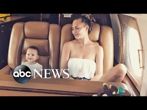Chrissy Teigen opens up about postpartum depression