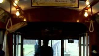 Vintage1923 Trolley Film Streetcar Trip Long but worth it!!  Washington PA