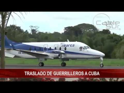 TRASLADO DE GUERRILLEROS A CUBA Cable Sur Noticias 13 Octubre 2016