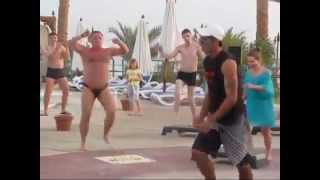 Fat Man In Speedo - Step Class Dance Funny