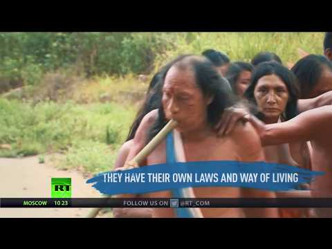 Nature Is Ours': Brazilian Wayampi tribe under threat from rainforest mining