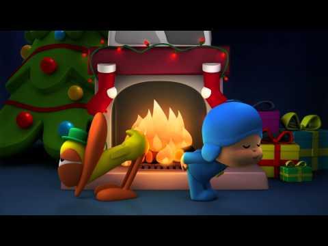 A lareira de Pocoyo está de volta! Feliz Natal