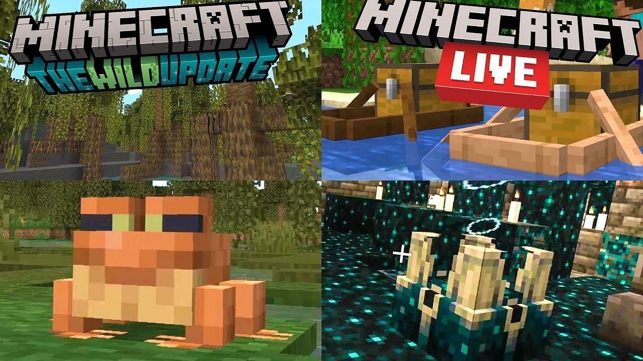 Download Minecraft 1.19 - La WILD Update - Toutes les infos