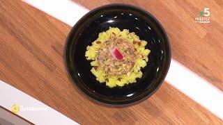 Coup d'food : Tartare de hareng aux amandes grillées Avec 750gr - La Quotidienne