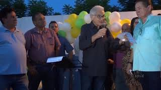 Diálogo entre prefeito e moradores - Cabeça Preta - assinatura de ordem de serviço