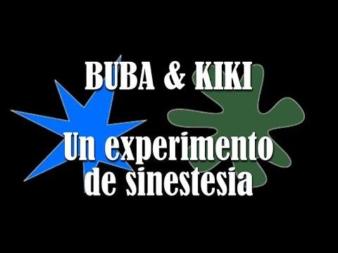 Buba & Kiki. Un experimento de sinestesia