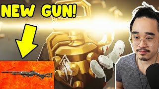 "Season 8 ""Good as Gold"" Trailer Reaction! NEW LEGEND + NEW WEAPON!! (Apex Legends)"