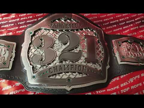 TRB Spotlight: 321 Battle Solid Steel Championship Belt