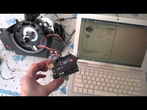 Thrustmaster TX RW Wheelbase And Arduino - Part 2