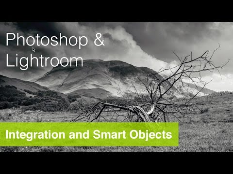 Using Adobe Lightroom with Photoshop Tutorial