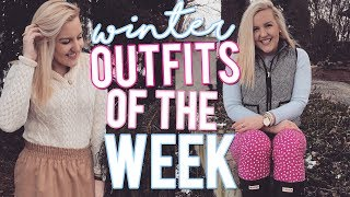 PREPPY WINTER OUTFITS OF THE WEEK!! January 2018 || Kellyprepster