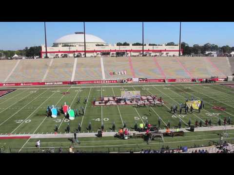 Northshore High School Marching Band at Showcase in 2016