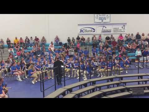 Belington Middle school  2019 Barbour County all-county concert