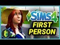 Play FIRST PERSON Mode in The Sims 4!