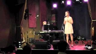 Broadway Unplugged - Eloise Mueller performing