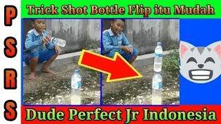 Bottle Flip Seperti Dude Perfect...!!!