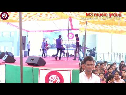 Sameer Hussein m3 music group live concert in ecb college Bikaner