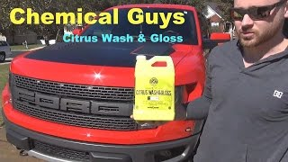 Foaming a 2014 Ford F150 Raptor with Chemical Guys Citrus Wash and Gloss