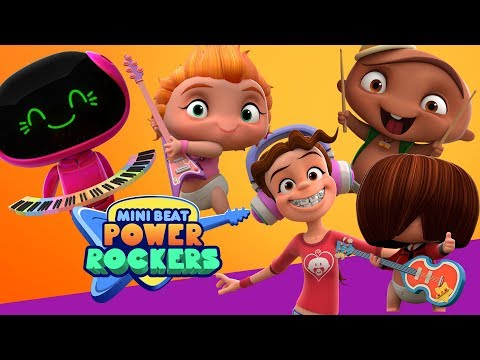 ¡¡¡Conoce a los personajes de Mini Beat Power Rockers!!! | Discovery Kids