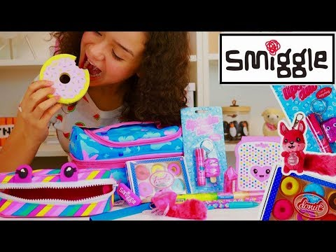 Smiggle Back to School Supplies Smiggle Haul School Pencil Case Stationery Haul Giveaway Ambi C Vlog
