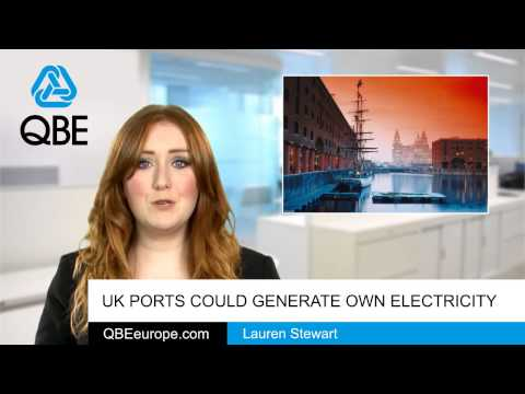 UK ports could generate own electricity