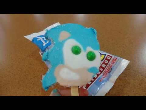 Sonic The Hedgehog Themed Frozen Confection
