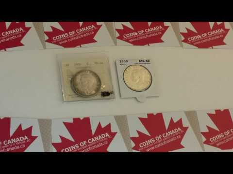 Coin Collecting Episode 103 - 1950 Canadian Silver Dollar SWL ICCS MS-64 #coincollecting #Coins