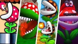 Evolution of Fire Piranha Plant in Super Mario Games (1988 - 2019)