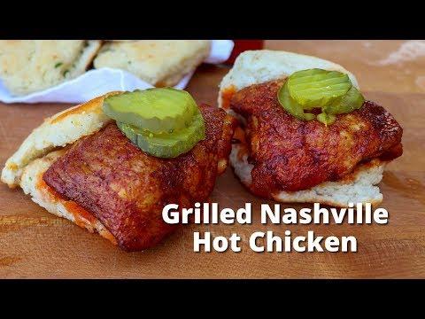 Grilled Nashville Hot Chicken | Nashville Hot Chicken Recipe on Weber Kettle Grill