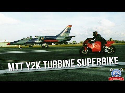 Watch Now! MTT Y2K Turbine Superbike Top Speed