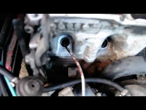 Как поменять маслосъемные колпачки на фольксваген пассат б3 видео