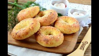 Творожные бублики с сыром Хороший рецепт